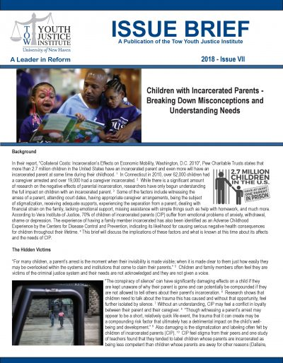 Children of Incarcerated Parents Issue Brief 10-29-18 Final_Page_1