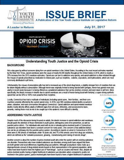 Opiod Crisis Issue Brief 7.31.17