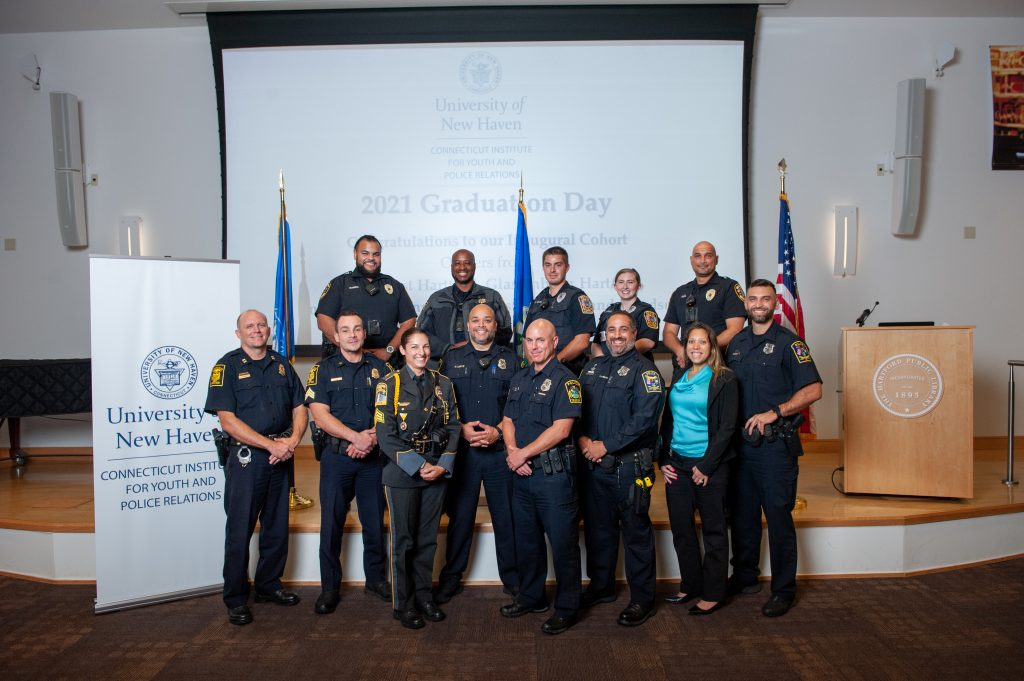 Connecticut Institute for Youth and Police Relations Graduates First Cohort!